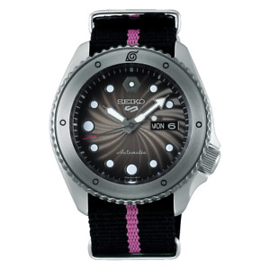 Seiko 5 Sport NARUTO & BORUTO SRPF65K1 Automatic Limited Edition 6500 Box Set
