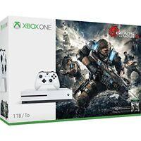 Microsoft Xbox One S Gears Of War 4 1TB Console Bundle Very Good 8Z