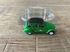 Norev 1/43 Citroën 2CV Sausss...ente green Les Citroëns 2CV n°68