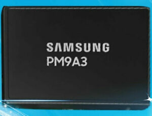 Samsung SSD 960GB PM9A3 U.2 NVME MZ-QL39600 PCIE4.0 Solid State Drive