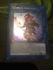 Yu-Gi-Oh Card! Summon Sorceress Ultra Rare Limited Edition JUMP-EN084 Mint