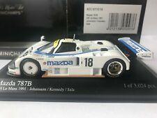 Mazda 787b N°18 le Mans 1991 Minichamps 1 43 Arrivée 6ème