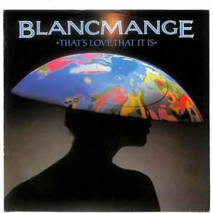 "Blancmange That's Love, That It Is (New Dance Mix Version) UK 12"" 1983 BLANX6 EX"