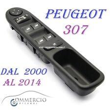 Pulsantiera Alzacristalli Peugeot 307 307cc 307sw 6554.KT NUOVA dal 2000 al 2014