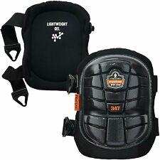 Ergodyne ProFlex 347 Professional Knee Pads, Protective Long Cap, Lighweight Gel