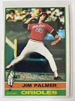 1976 Topps Jim Palmer Baltimore Orioles #450 Baseball Card
