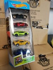 2020 Hot Wheels Exotics 5 Pack Lamborghini Pagani Lotus Aston Martin