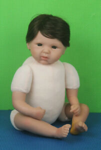 """Happy Teddy Reborn Baby Doll 19"""" Michelle Fagan Paradise Galleries OOAK Collect"""