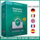 Kaspersky Antivirus 2021 1PC, 3PC, 5PC / Geräte 1 Jahr - 2 Jahre - E-Mail <br/> 24h-Kunden-Support✔ Rechnung✔ DE-Händler✔ Anleitung✔