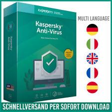 Kaspersky Antivirus 2021 1PC, 3PC, 5PC / Geräte 1 Jahr - 2 Jahre - E-Mail