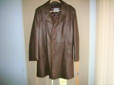 New listing Victoria Leather Bobby Hull down lined Coat Sopranos