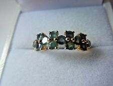 Rare Beautiful Natural Color Change 1ct Alexandrite 10K Yellow Gold Ring Size 7