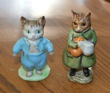Beatrix Potter Tom Kitten & Simpken Cat Figurine