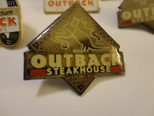 Outback Steakhouse Restaurant Lapel Pin - Kangaroo, Snakes