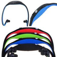 Kabellos Fitness MP3 Kopfband Sport Player In Blau Bis Zu 8GB