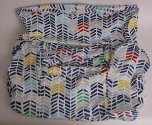 Pottery Barn Kids Broken Arrows navy multi anywhere chair slip cover *regular