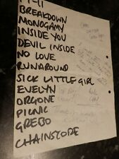 More details for pop will eat itself set list stage list 1986