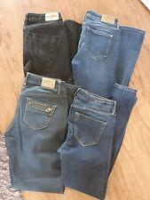 River Island Jeans Bundle Job Lot Size 10 Skinny Blue Black