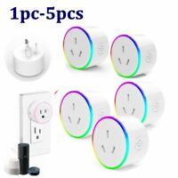 AU Standard Smart home Plug Socket Switch Outlet Adaptor for Amazon Alexa/Google