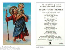 The Motorist's Prayer Card Grant Me O Lord A Steady Hand And Watchful Eye