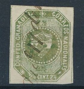 [33817] Colombia 1859/60 Good classical stap Fine/VF used