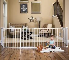 Regalo 192-Inch Super Wide Adjustable Gate and Play Yard, 4-In-1 3DAYSHIP