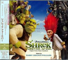 """Harry Gregson-Williams """"SHREK FOREVER AFTER"""" score Japan CD SEALED"""