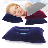 Hot Portable Ultralight Inflatable Air Pillow Cushion Travel Hiking Camping ReVG