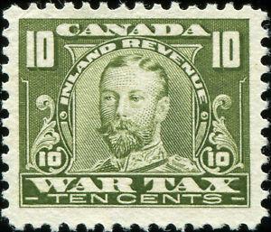 Canada FWT13 War Revenue Stamp, Unused NG (19760)