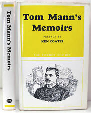 1967 TOM MANN ENGLISH LABOUR LEADER & SOCIALIST MEMOIRS