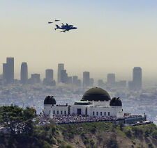 Historical Final Shuttle ENDEAVOUR Fly over GRIFFITH OBSERVATORY 8x10 PHOTO