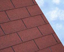 Felt Roofing Shingles | Shed Felt Roof Shingles | RED RECTANGULAR TAB