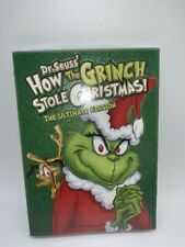 Dr. Seuss' How The Grinch Stole Christmas! (Dvd) The Ultimate Edition Brand New!