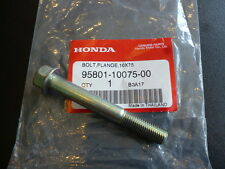 Honda cx500 mb5 Flange Bolt 10X75 Genuine.