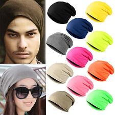 Winter Warm Unisex Women Men Knit Ski Crochet Slouch Hat Cap Hip-Hop Beanie Hats