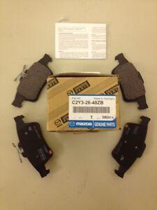 MAZDA OEM 04-13 3 Brake-Rear Pads C2Y32648ZB
