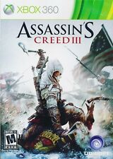 Assassin's Creed III Xbox 360 Game Complete