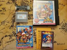 Neo Geo Pocket Color Best Collection SNK vs Capcom Card Fighters Clash SNK ver