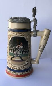 Legends of Baseball Babe Ruth The Called Shot Bradford Museum Beer Stein 1993