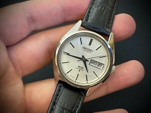 Vintage King seiko KS Hi-beat 5626-7117 Automatic gents watch day date 35mm