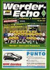 EC I CHAMPIONS LEAGUE 93/94 Werder Bremen - RSC Anderlecht / Eintracht Frankfurt