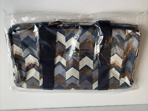 Thirty One Medium Utility Tote In Shades Of Chevron Brand New In Package 31