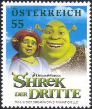 Austria 2007 Shrek/Films/Movies/Cinema/Cartoons/Animation 1v (at1132)