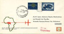 NL 5.11.1960, Kab.-Erstflug der KLM von Amsterdam nach Afrika: CONAKRY (Guinea)