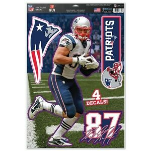 New England Patriots Rob Gronkowski Decal Set