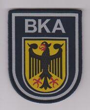 Bundeskriminalamt --  BKA  --  Stoffabzeichen  --  gewebt  --  Klett