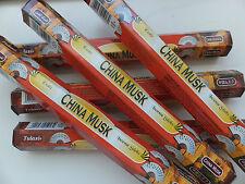 20 Stück Tulasi China Musk - Räucherstäbchen - incense sticks