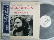 PROMO WHITE LABEL / THE DOORS JIM MORRISON AN AMERICAN PRAYER / WITH OBI