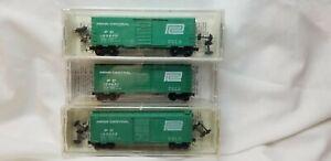 Kadee/Micro-Trains Penn Central 3 Pak