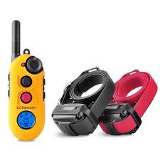 Easy Educator Two Dog Training Collars with 1/2 Mile Range Model EZ-902